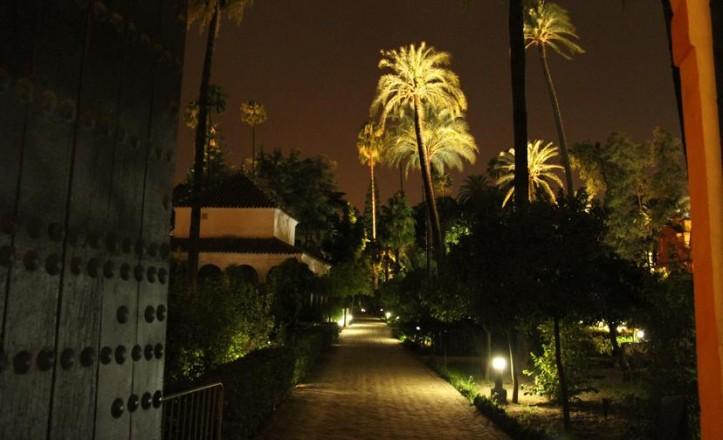 Visitas nocturnas al Alcázar