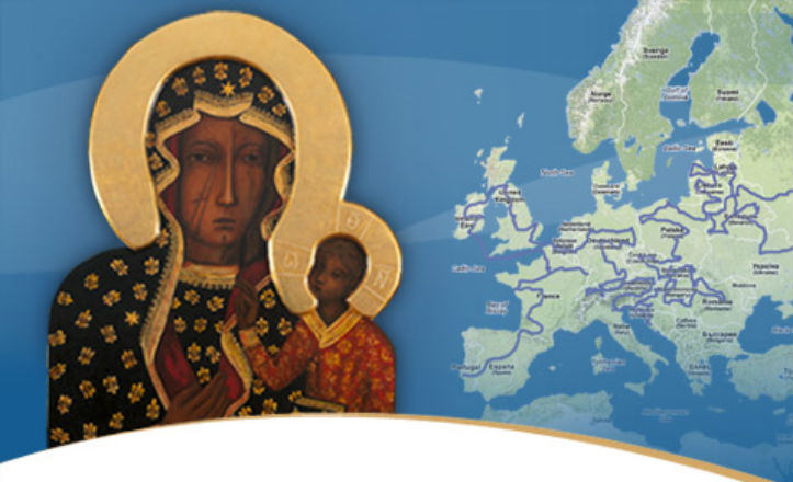 La Virgen polaca negra visita Sevilla