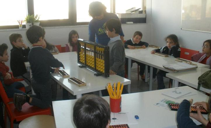 La demostración con niños en CADIS