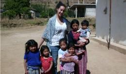 Ángela Sanz, voluntaria de Entreculturas