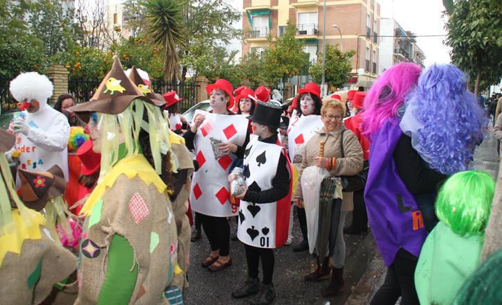 Pasacalle del carnaval de Bellavista