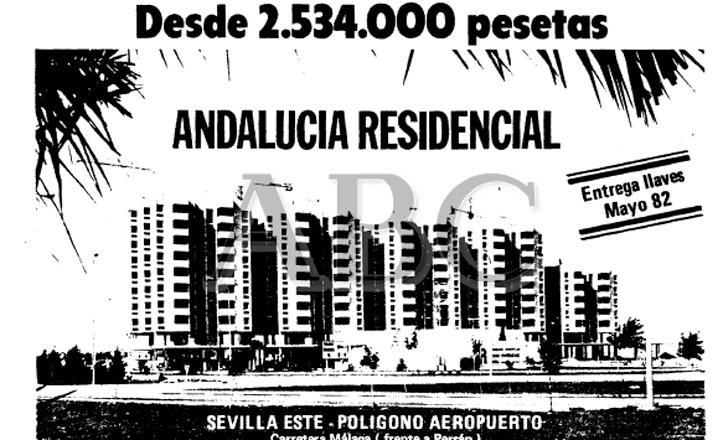 Anuncio del 82 venta pisos Andalucía Residencial en ABC