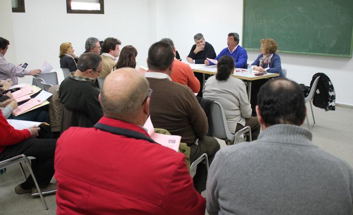Imagen de la junta municipal del 7 de febrero
