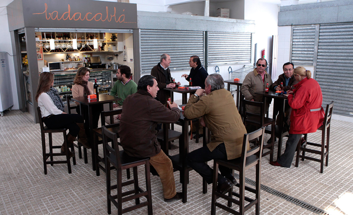 El bar Badacablá del mercado