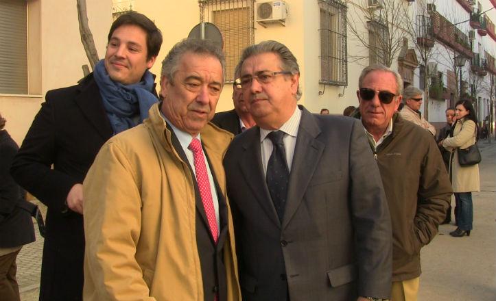 El alcalde, Juan Ignacio Zoido, visita las obras del Porvenir