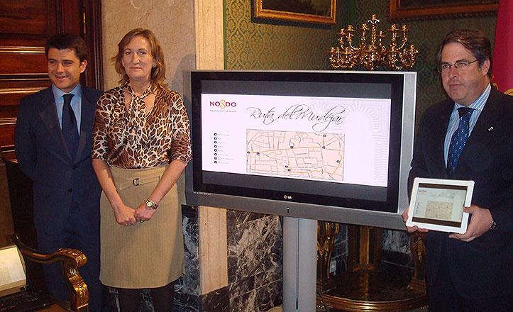 Beltrán Pérez, María del Mar Sánchez Estrella y Gregorio Serrano