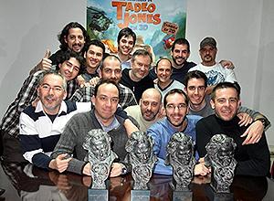 El equipo de Tadeo Jones