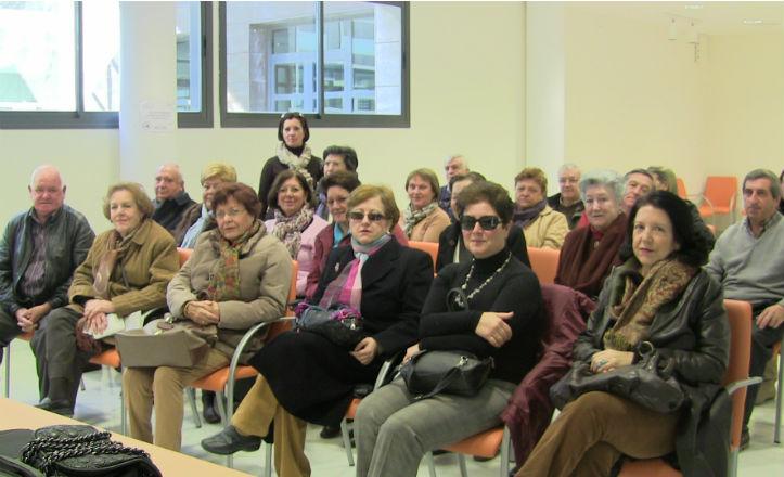 Alumnos del taller Conocer Sevilla
