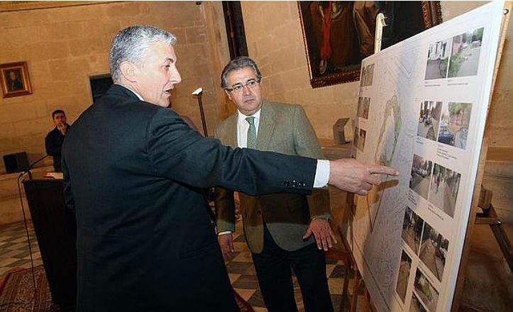 Presentación del proyecto de reurbanización del Casino de la Exposición
