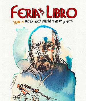 Cartel de la Feria del Libro de Sevilla 2013