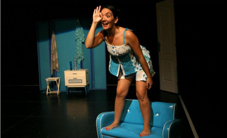 Imagen de la obra de teatro «Insomnio, Ne me Quitte pas el Sueño»