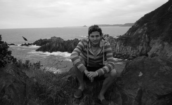 Imagen cedida por Miguel Roda en la que aparece en una montaña