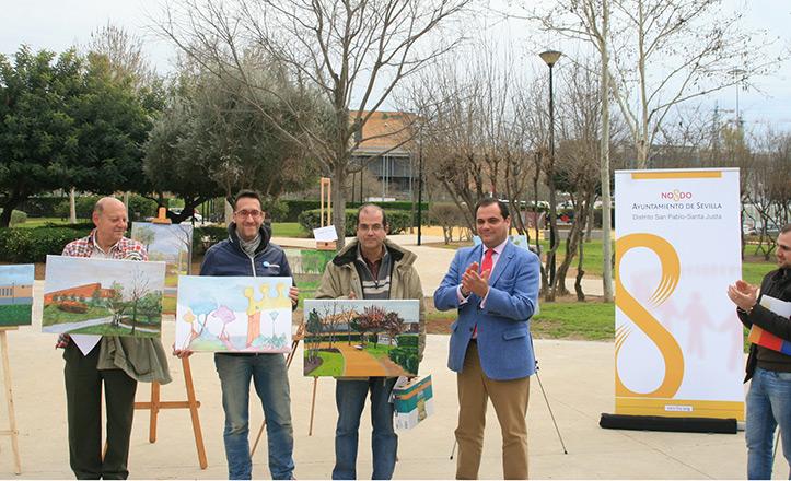 El Parque Santa Justa se reabre con un concurso de pintura