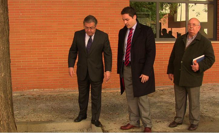Visita del alcalde, Juan Ignacio Zoido, a las obras de Ramón Carande