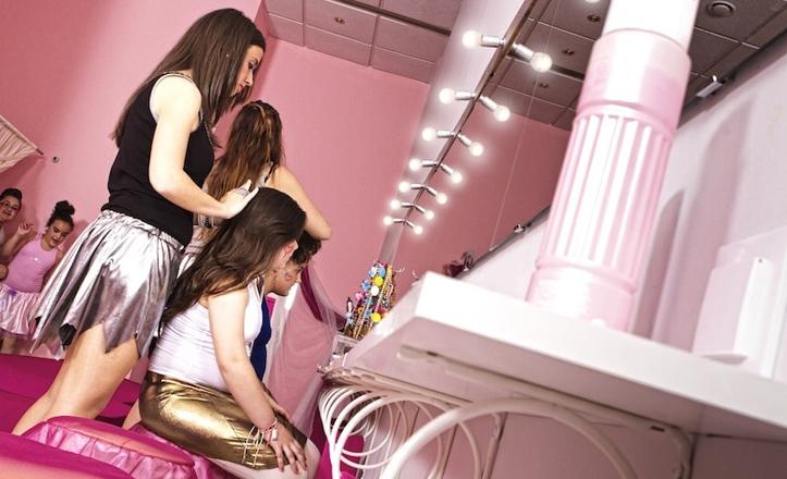 Sala rosa de Magicdoors