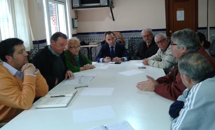 Imagen durante la reunión