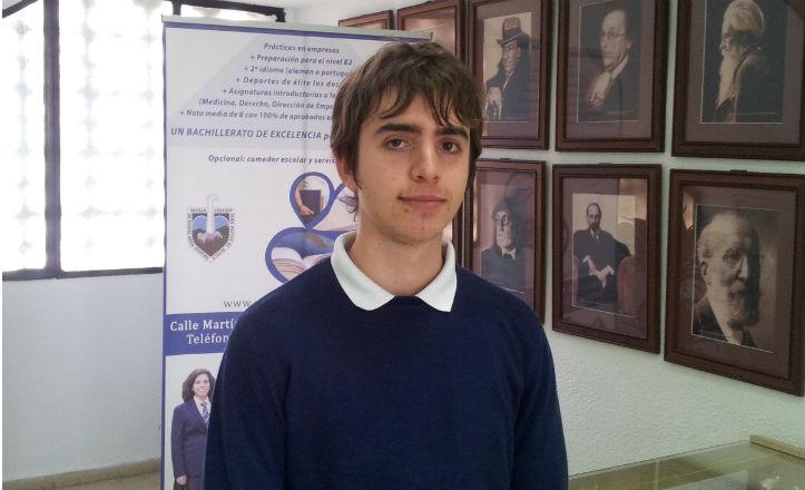 Antonio Hidalgo, medalla de oro en la Olimpiada de Física