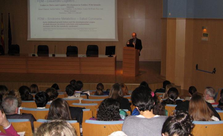 Una de las conferencias de las jornadas de Valme