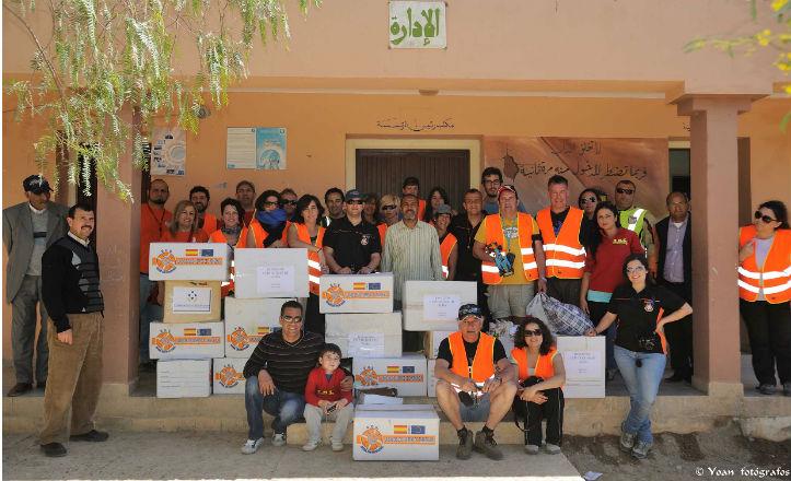 Viaje a Marruecos de S.O.S Ayudas sin fronteras