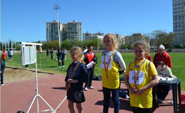Algunas de las ganadoras de las pruebas