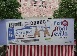 La ONCE dedica el Cuponazo a la portada de la Feria