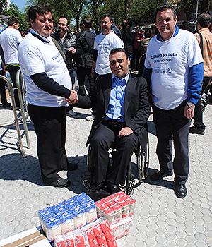 Juan García Camacho Caravana Solidaria