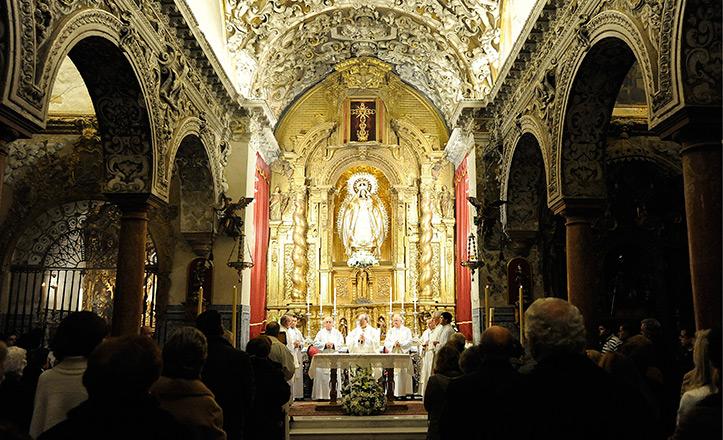 La parroquia de Santa María la Blanca
