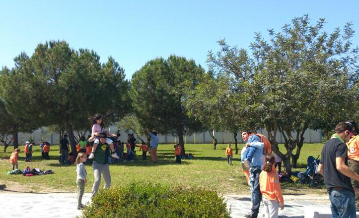Scout Sevilla en el parque Tamarguillo