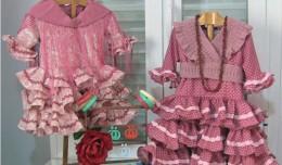Trajes de flamenca de La ropita de Maca y Lucía