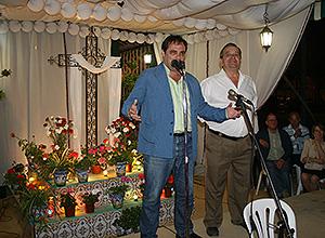 Jaime Ruiz en la Cruz El Pueblo