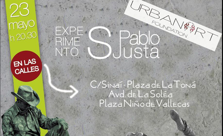 cartel de arte urbano san pablo