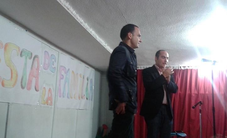 Belmonte visita el colegio Sebastián y Bandarán