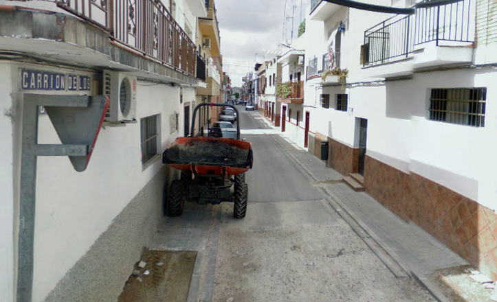 calle-carrion-cespedes-barrio-padrepio