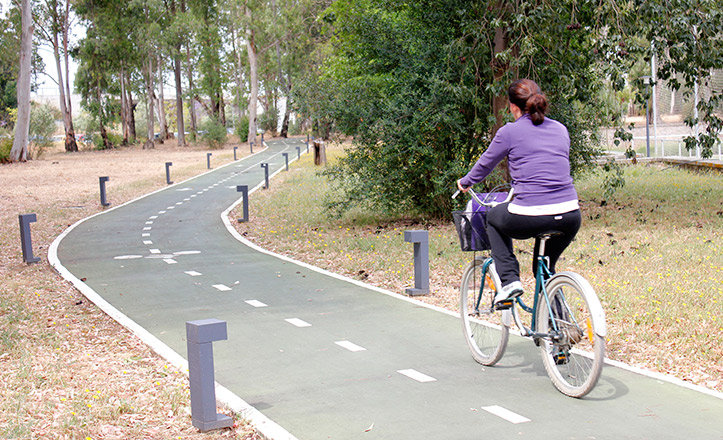 Carril bici de la UPO
