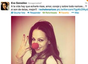 Eva González en EchaleNarices