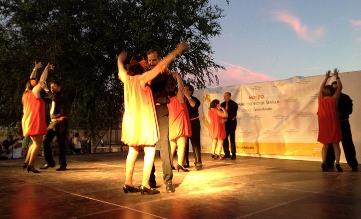 Exhibición de los talleres del distrito Cerro-Amate 2013