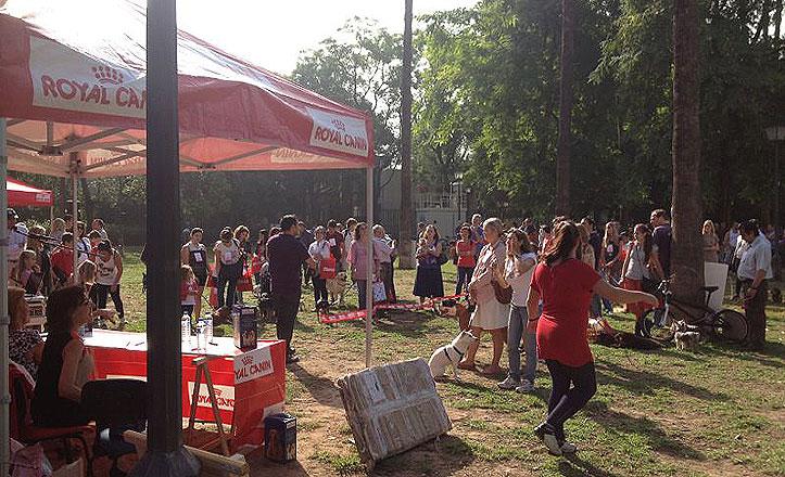 Tercer Festival Canino en el Parque de los Príncipes