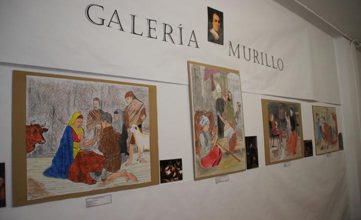Galería Murillo de la exposición del Príncipe de Asturias