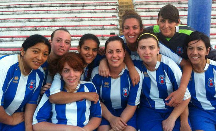 Jugadoras del Club Deportivo Nervión