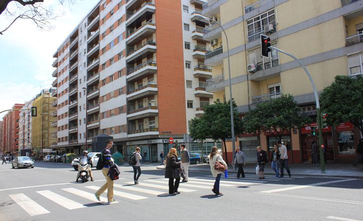 Nuevo paso de peatones en Virgen de Luján