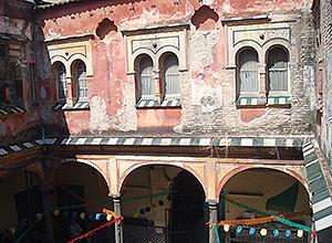 Detalle del estado de la Casa del Pumarejo