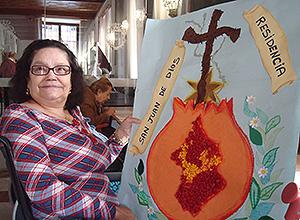 Trabajos manuales en San Juan de Dios