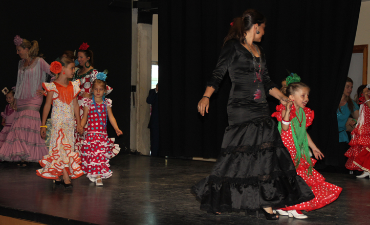 Desfile flamenca gala clausura Bellavista