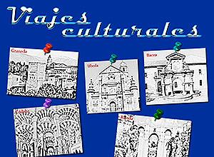 Cartel de los Viajes culturales
