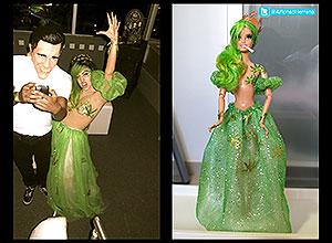 Uno de los diseños de Alfonso Herrero de Lady Gaga