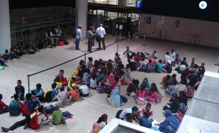 aeropuerto-acogida-ninos-saharauis