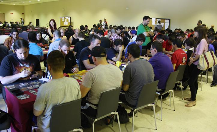Imagen de la pasada edición del Full Magic Weekend de Sevilla, celebrado en Fibes