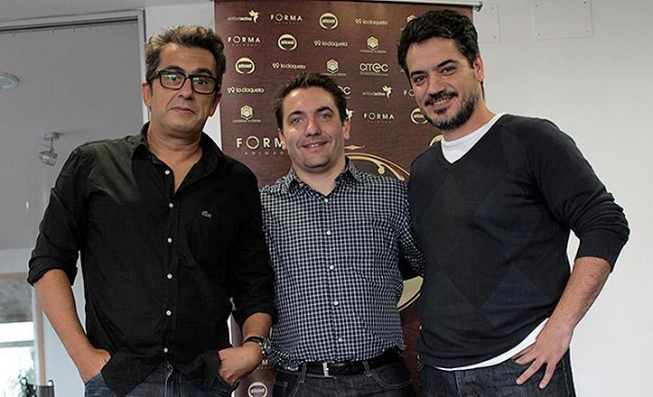 Andreu-Juanma-Enrique-enara-baja