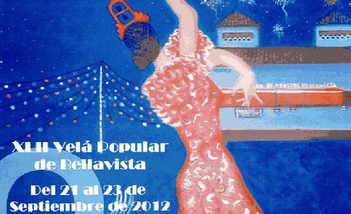 Cartel velá Bellavista 2012