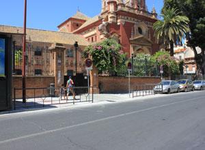 Concluye la obra en el acceso del Colegio San Jacinto